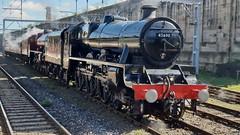 LMS Jubilee class 45690 Leander (Uktransportvideos82) Tags: lms 5690 45690
