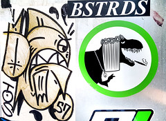 Hippie Dino Bstrd (Fred:) Tags: fletcher stickers franksignatra fletchermtl signderella frank signatra red circle line through slash symbol logo parody fake defense prohibition interdit interdiction sign prohibited défendu collant sticker autocollant stickerart montreal streetart artist street art montréal pictogramme pictogrammes pictogram pictograms stick figures slap slaps stickerslap bstrds hippie dinosaur dinosaure dino flower power