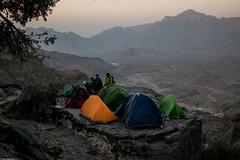 When climbers camp (Vagabundina) Tags: nikon nikond5300 dsrl oman hadash climbing mountains rocks nature landscape scenery 35mm goldenhour sunset camp campsite climbers