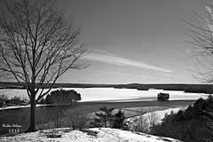 Lion's Look Out Huntsville (rcss2800) Tags: blackandwhite blackwhite landscape outdoor outdoors water lake snow tree trees natur nature huntsville ontario monochrome mountain travel cottagecountry