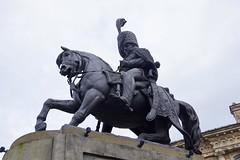 Statue to Charles William Vane Stewart (1778 - 1854) (Dave Hamster) Tags: durham countydurham statue charleswilliamvanestewart 3rdmarquisoflondonderry 1stearlvane baronstewartofstewartscourtkcccb lordlieutenantofcountydurham marquisoflondonderry earlvane baronstewartofstewartscourt lordlieutenant marquis londonderry earl vane baron stewartscourt sculpture horse horsesculpture
