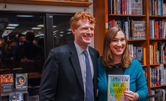 2018.03.20 Sarah McBride and Rep Joe Kennedy, Politics and Prose, Washington, DC USA 4126