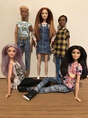 Revolution In The Head.... (Gavapillar) Tags: barbielea barbiekayla barbiegrace barbiedrew barbiefashionfever barbiestyle barbiefashionista barbiedoll barbie