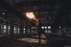 Charm 1 (Urbexchile) Tags: fire man urbex people flame power urban llamas fuego gente chile maestranza risk riesgo