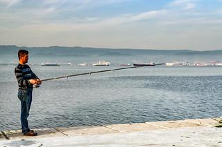 Fishing, Izmit, Turkey #44