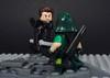 Prometheus Showdown (-Metarix-) Tags: lego minifig cw green arrow prometheus super hero archer adrian chase showdown season 5 villain custom