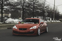 Stefan Fetyko's Static Hyundai Genesis (LocallyLowered) Tags: cambergang canibeat camber canon locallylowered stance stancenation wheelporn