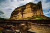 Mingun (Nebelkuss) Tags: myanmar mandalay asia burma birmania pagoda ruinas ruins terremoto earthquacke nubes clouds fujixt1 samyang12f2
