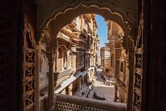 Haveli (dayvmac) Tags: jaisalmer rajasthan haveli stone carving