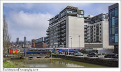 Views of Lincoln (Paul Simpson Photography) Tags: paulsimpsonphotography lincoln trains lincolnshire canal cars transport citycentre cathedral levelcrossing railway april2018 bridge water sonya77 imagesof imageof photosof photoof spring motorcars railroad