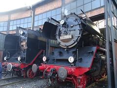 03 001 und 03 2155 (Thomas230660) Tags: dresden eisenbahn dampf dampflok steam steamtrain sony