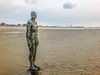 Sentinel (tubblesnap) Tags: liverpool merseyside formby crosby holiday beach anthony gormley another place installation statue public art sentinel