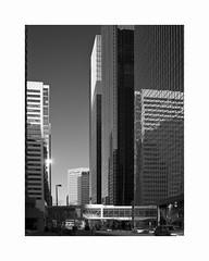 Calgary, Alberta (Joe Franklin Photography) Tags: calgary canada alberta city street blackandwhite blackwhite bw almostanything northamerica buildings streetscene joefranklin wwwjoefranklinphotographycom