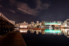 Vancouver, BC - March 2018 (marc_letang) Tags: vancouver britishcolumbia bc canada d610 nikond610 nightphotography cityscape
