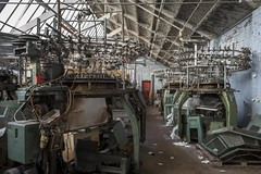 Knitting machines (Camera_Shy.) Tags: textile mill derelict abandoned disused old building machinery equipment decayed kniting urban exploration dereliction ue nikon d810 photography uk
