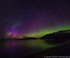 Spectacular show in Scotland (sarahOphoto) Tags: ardmair scotland unitedkingdom gb aurora northern lights show spectacular colours sky night astro ullapool scottish highlands long exposure canon 6d samyang dancing green clouds mountains water reflection landscape nature borealis stars purple beach