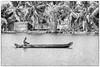 Backwater Boater (William Matthews Photography) Tags: india kerala boat canoe backwaters
