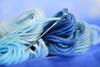 Sew me a sky (adelina_tr) Tags: blue threads needle macro macromondays theblues