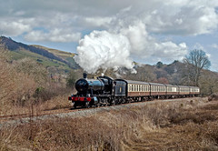welcome back 3802 (midcheshireman) Tags: steam train railway llangollen greatwestern 38xx 3802 wales