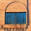 bare branches and brickwork (msdonnalee) Tags: windowreflection brickwall shadowsonthewall masonry barebranches winter reflection reflisse refleccione reflexion curve brickwork ventana janela finestra fenster