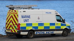MX60 AHF (Ben Hopson) Tags: northumbria police volkswagen crafter marine unit van vehicle base river tyne public footpath mx60 mx60ahf