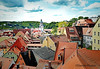 """Rooftop Miscellany (""""DavidJHiom"""") Tags: roofs rooftops tiles red meissen church landscape ©davomphotos davidjhiom davomphotos"""