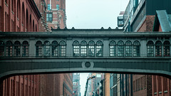 """The Cross Over"" (36D VIEW) Tags: helios81h 81h mirrorless sony a7rii a7rm2 vintage classical legacy highline helios manhattan buildings 50mm manual analog classic composition nyc street"