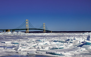 Mighty Mac over Blue Ice