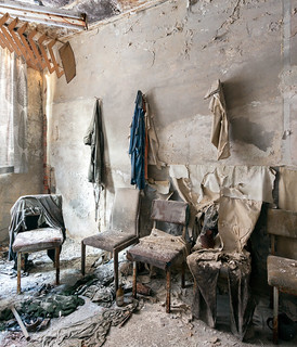 chairs in cloakroom