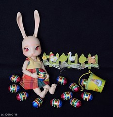 2018-Easter3 (Idemo's photos) Tags: easter bunny coco tribe ruby egg doll bjd