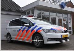 Dutch VW and  Police Logo. (NikonDirk) Tags: police politie vw volkswagen golf rotterdam rijnmond zuid holland 7 touran nikondirk dutch nederland netherlands nikon cop cops hulpverlening transporter t5 foto pz772f 7xbr93 px072h rg744f hoekse hoeksche