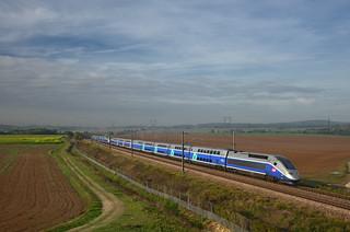 TGV 5261 @ Ver-sur-Launette