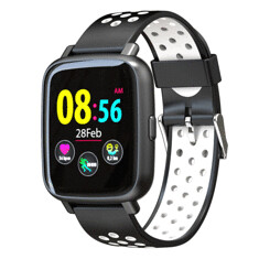 "Bakeey SN12 1.44"" Color Screen Blood Pressure Oxygen Heart Rate Monitor IP68 Waterproof Sport Watch (1268774) #Banggood (SuperDeals.BG) Tags: superdeals banggood cell phones accessories bakeey sn12 144 color screen blood pressure oxygen heart rate monitor ip68 waterproof sport watch 1268774"