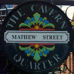 The Cavern Quarter, Liverpool, England (teresue) Tags: 2017 uk unitedkingdom greatbritain england merseyside liverpool cavernquarter mathewstreet beatles squircle squaredcircle