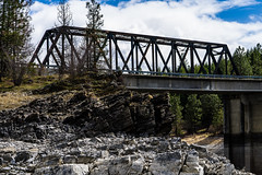 _DSC0885 (Simply Angle) Tags: sony sonyphotography sonyphotographing sonya7ii spring sel90m28g sonyfe90mmf28macrog fe90mmf28macrogoss washington washingtonstate nature adventure pines pinetrees outdoors railroad bridge clouds water river columbiariver rocks stone boulders kamloops island