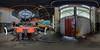 Bahnwerk Bismarck 01 (DerMische) Tags: equirectangular panorama gelsenkirchen indusriekultur pano360 photosphere ptgui hdr bahnhof bismarck hdrpanorama snshdr ruhrgebiet ruhrpott bahn lokschuppen