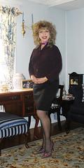 (penny_coyne) Tags: blonde pantyhose skirtsuit pennycoyne