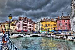 Annecy (Old Town) (cantdoworse) Tags: lake annecy lac savoie france alps canal canon 6d europe town old photomatix hdr landscape