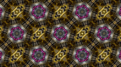 Kaleidoscopic Design of Watch Jewels (KellarW) Tags: mechanical silver jewel sprockets banner mechanicalwatch shinymetal mechanicalmarvel gold jewels spokes silverandgold graphicdesign shiny patterns wallpaper bannerpage watchgears gears kaleidoscope metalic