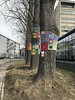 Guerilla knitting (Bex.Walton) Tags: travel poland kraków krakow weekend longweekend citybreak art guerillaknitting podgórze