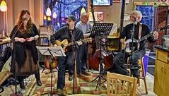 Grassanova (☼Cold & Sunny Today!☼) Tags: grassanova bluegrassband edna dave stu paul vocals guitar bass banjo ithacabakery downtownithacany
