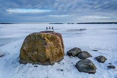 Since the Ice Age (ristoranta) Tags: stone luonto winter jää kivi haukilahti snow lumi pilvet pilvi cloud talvi nikond7100tamron16300mmf3563 iron esine rauta taivaspilvet ice