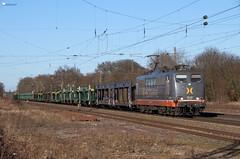 "162 003 ""Hectorrail/Metropolis"" mit ARS Altmann - 20.03.2018 - Bassum (D) (Frederik L.) Tags: db bahn zug hectorrail altbau lok lokomotive baureihe 151 ars altmann bahnhof bremen bassum rollbahn"