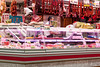 Sausage _3959 (hkoons) Tags: bayofbiscay westerneurope atlantic butcher europe european iberia oviedo spain spanish bacon coast coastal cured fish ham hog market meat ocean pig pork port purchase sea store vendor