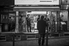 SMOKERS (ajpscs) Tags: ajpscs japan nippon 日本 japanese 東京 tokyo city people ニコン nikon d750 tokyostreetphotography streetphotography street seasonchange spring haru はる 春 2018 shitamachi night nightshot tokyonight nightphotography citylights tokyoinsomnia nightview monochromatic grayscale monokuro blackwhite blkwht bw blancoynegro urbannight blackandwhite monochrome alley othersideoftokyo strangers walksoflife omise 店 urban attheendoftheday urbanalley smokers