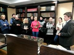 Представители Национальной библиотеки Беларуси посетили Минскую духовную академию