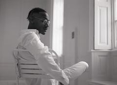 Kyle Tucker (fraser_west) Tags: actor portrait blackwhite bw film analog 120 kodak naturallight studio wetheconspirators