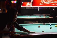 Ready for the shot (radargeek) Tags: partners bar oklahomacity pool noflash gaybar pub danceclub tattoo
