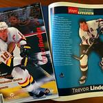 Trevor Linden / Vancouver Canucks Ice Age Magazine (1990s) thumbnail