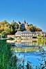 Combourg - Le Lac Tranquille (roland dumont-renard) Tags: combourg bretagne lelactranquille chateaubriand château lac reflets roseaux nénuphars illeetvilaine